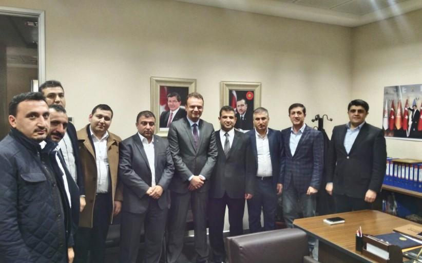 AGİD' ten  AK Parti İstanbul İl Başkanlığına Ziyaret
